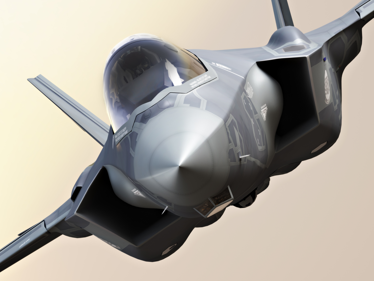 Lockheed Martin F35 fighter jet