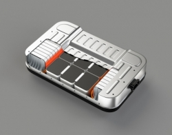 Electric Vehicle Battery Cutaway image