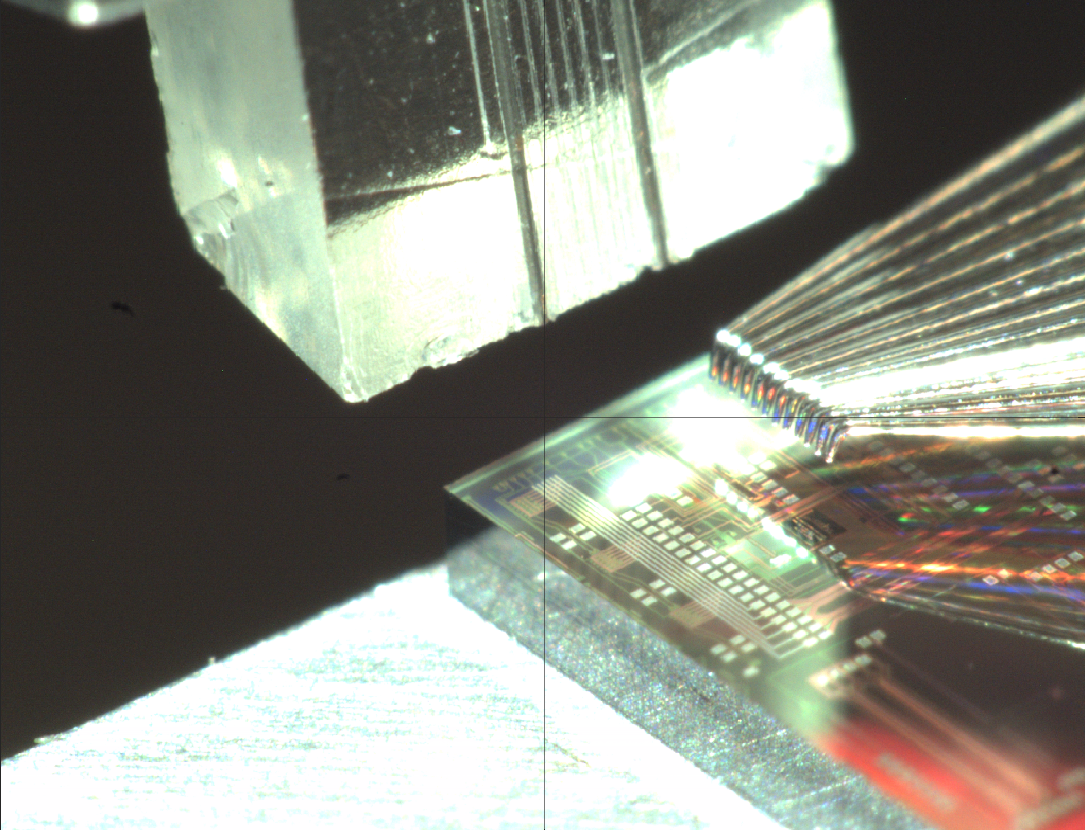 Silicon photonics test